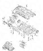 Картер двигателя rotax 947 б/у - Фото #1