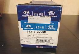Колодки для задних барабанов на Hyundai Elantra II - Фото #1