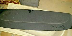 Спойлер крышки багажника kia ceed 1 рестайлинг 3д - Фото #1