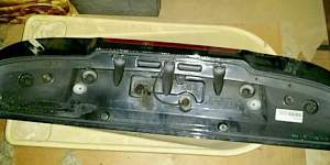 Спойлер крышки багажника kia ceed 1 рестайлинг 3д - Фото #2