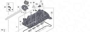 Клапанная крышка бмв мотор N47 D (дизель) - Фото #3