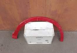 Накладка передней арки крыла Civic FN Tape S - Фото #1