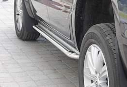 Пороги Volkswagen Amarok Omsa Moonpart d60 - Фото #3