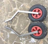 Транцевые колёса быстросъёмные - Фото #3