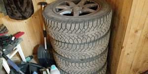 Зимние шины с дисками на Volvo s80 - Фото #2