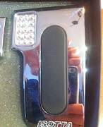 Накладки на педали Isotta со стразами - Фото #2