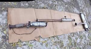 Глушитель Киа спортейдж3,Приемная труба резонатор - Фото #2