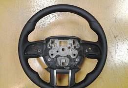 Руль Range Rover Evoque анатомический кожаный - Фото #1