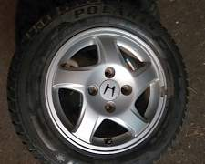 колеса. Шины 195/65 R15 Диски 4/114.3 - Фото #1