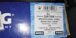 Тормозные диски переднии на VAG - Фото #1