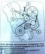 """Для """"Пежо 406"""" ролик обводной ремня ген-ра - Фото #3"""