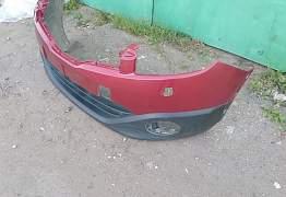 Бампер передний. Ниссан Кашкай б/у 2011 - Фото #3