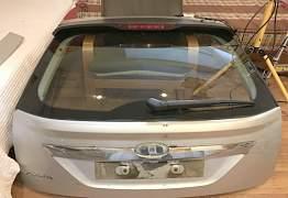 Форд Фокус 2 Рестайлинг крышка багажника (в сборе) - Фото #1