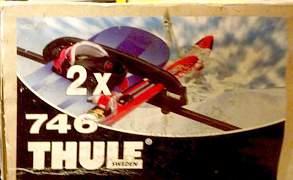 Багажник для 4-х пар лыж Thule SnowPro 746. Новый - Фото #4