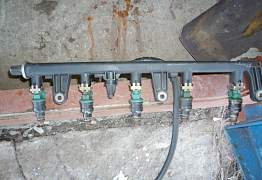 Фиат мареа 2.0. топливная рейка с форсунками - Фото #1