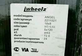 Новые литые диски 8x18 5x120 ET43 D72.6 - Фото #5