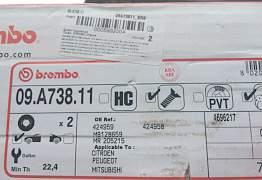 передний тормозной диск на Аутлэндер XL - Фото #4