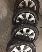 шины Goodyear на литых дисках (205/60R16) - Фото #1