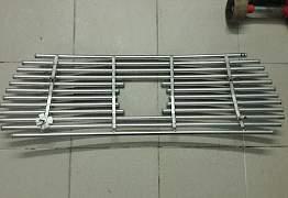 Обивка стойки и решетка радиатора для Toyota LC200 - Фото #5