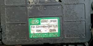 Вентилятор радиатора Kia Opirus 3.8L - Фото #2