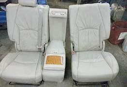 Кожанные сиденья от джипа - Фото #1