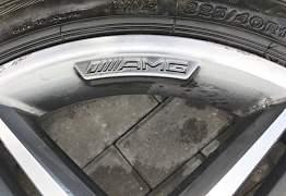 Колёса в сборе Mersedes AMG (оригинал) r18 - Фото #3