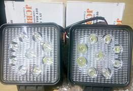 Диодные (LED) фары 27W 2700Lm - Фото #1
