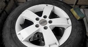 Комплект колес на Форд Фокус с литыми дисками - Фото #4