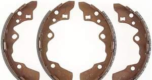 Колодки тормозные задние барабанные bendix 598 - Фото #2