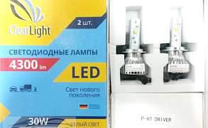 Светодиоды головного света Clearlight H7 4300 LM - Фото #1