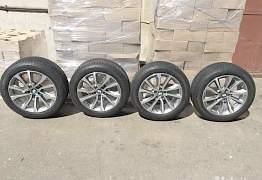 Оригинальные диски BMW с зимними шинами Michelin - Фото #1