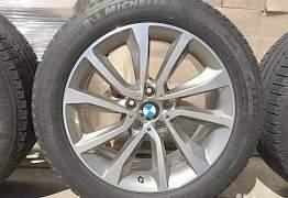 Оригинальные диски BMW с зимними шинами Michelin - Фото #3