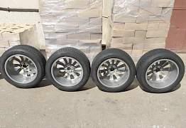 Оригинальные диски BMW с зимними шинами Michelin - Фото #5