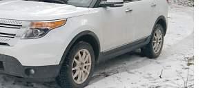 Зимние колеса 245/60/18 Ford Explorer 5 - Фото #2