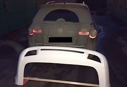 Юбка заднего бампера Passat B6 - Фото #2