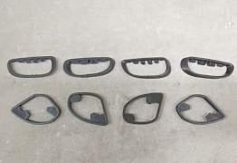 Светоотражатель, кольца на ручку VW Passat B7 - Фото #5