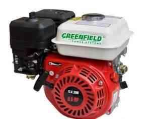 Двигатель бензиновый green field GF 168 F-1(GX200) - Фото #1