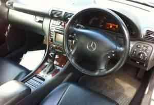 Mercedes w 203 салон кожа - Фото #1