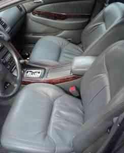 чёрные кожаные передние сиденья для Хонды И - Фото #1