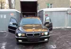 Двигатель BMW E38 740i M60 - Фото #1
