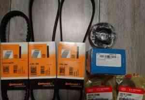 Комплект ремней грм + сальники коробки - Фото #1