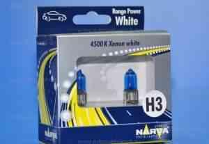 Автолампа 12Vx55W H3 PK22s narva range power white - Фото #1