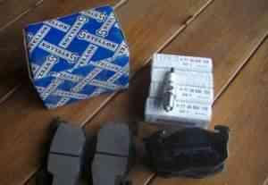Тормозные колодки и свечи для Рено и Пежо - Фото #1