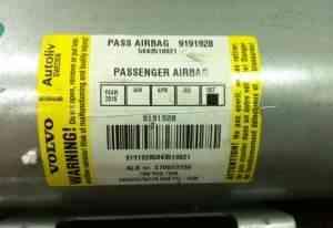Airbag volvo XC70, S60, V70 2001-2007 pass 9191928 - Фото #1