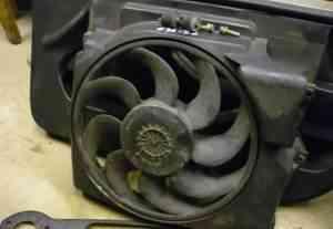 BMW E36, вентилятор кондиционера, бмв Е36 - Фото #1