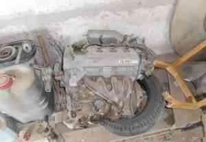 Двигатель Тойота авенсис 1998 объем 1.8 -7а-fe - Фото #1
