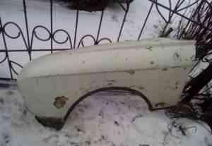 Крылья передние для автомобиля Москвич 412 пластик - Фото #1