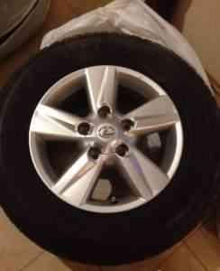Колеса на лексус 570 R18 оригинальные - Фото #1