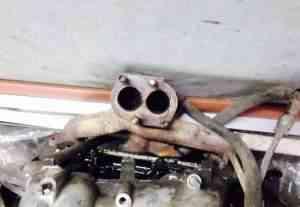 Выпускной коллектор на ВАЗ 2114 - Фото #1