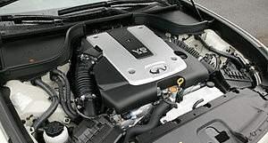 Двигатель Infiniti G25 - Фото